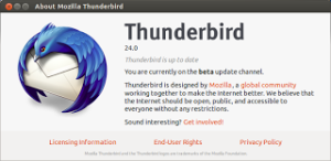 [How To] Install Thunderbird 24 beta 3 in Ubuntu 13.04