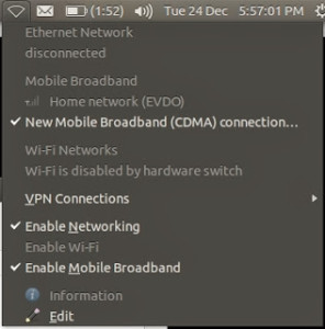 Connecting to mobile broadband is now just plug & play in Ubuntu 13.10