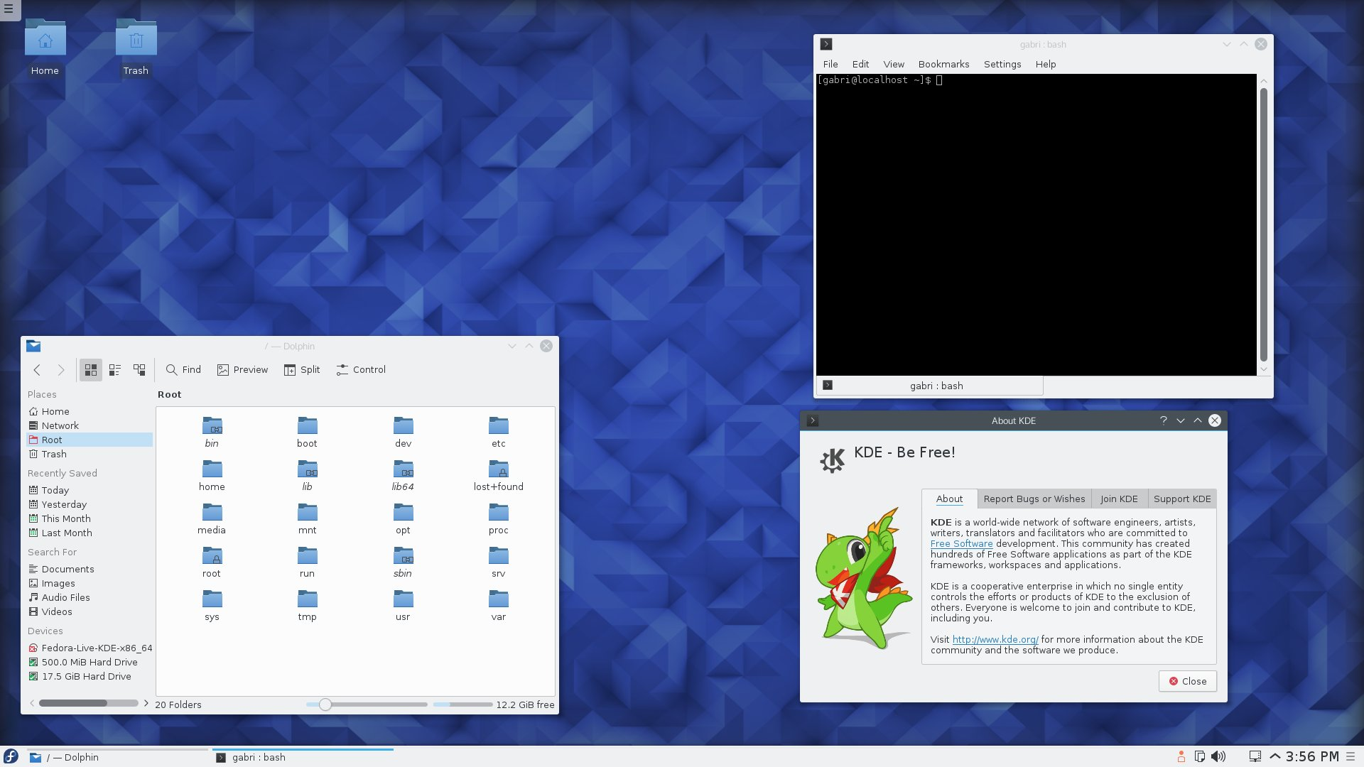 [How To] Install KDE  in Fedora Workstation 25